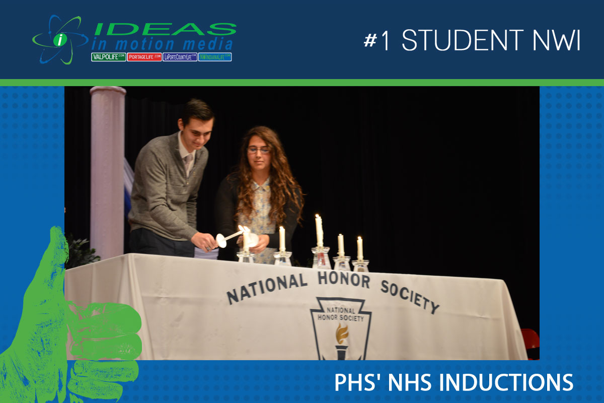PHS Inducts New Members Into National Honor Society