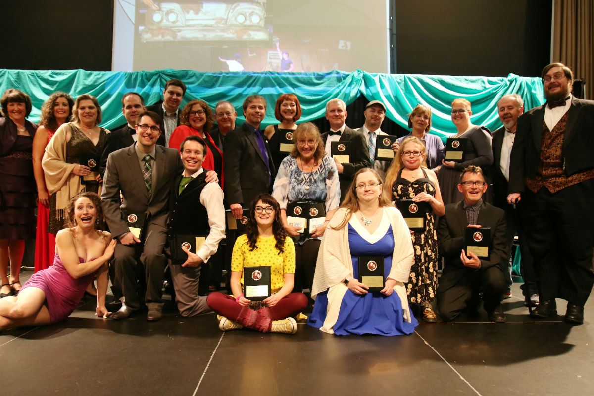 NIETF Celebrates Their 24th Awards Gala By Recognizing and Honoring Members of the Theatre Community