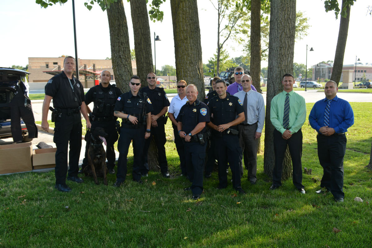 Portage Police, Community Come Together for National Night Out