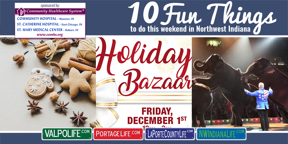10 Fun Things to do in NWI on December 1st – 3rd, 2017