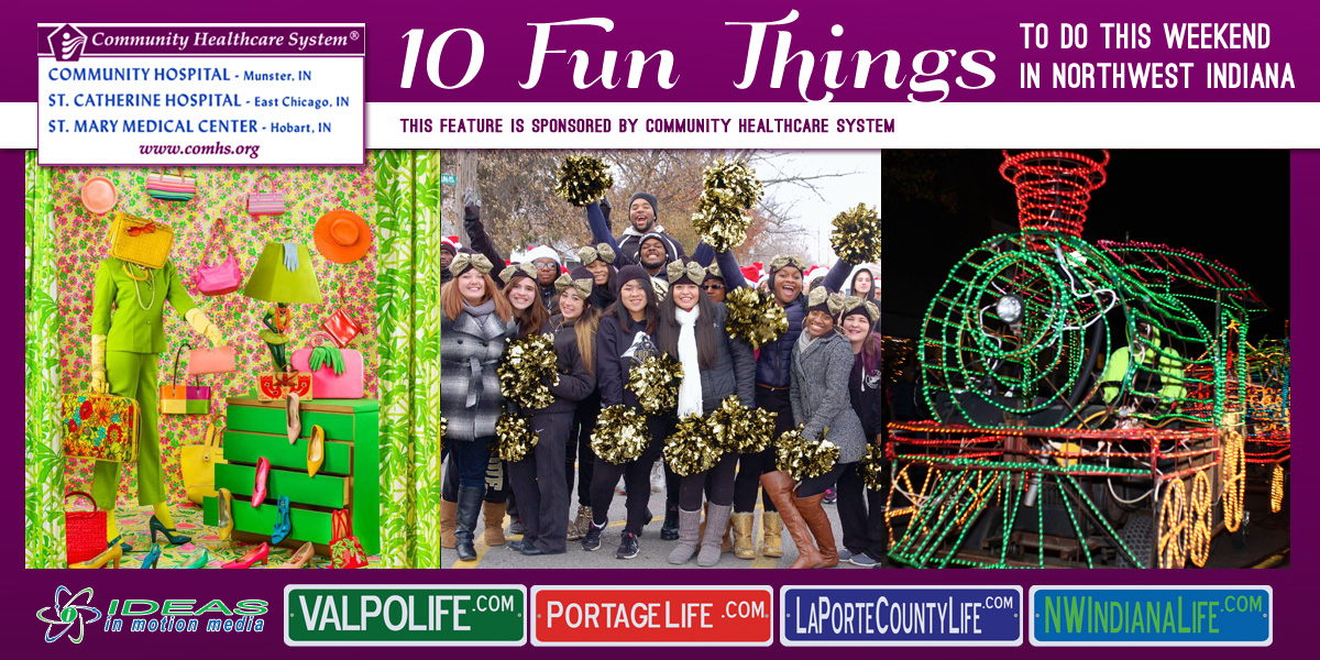 10 Fun Things to Do this Weekend in Northwest Indiana: December 2nd- 4th, 2016