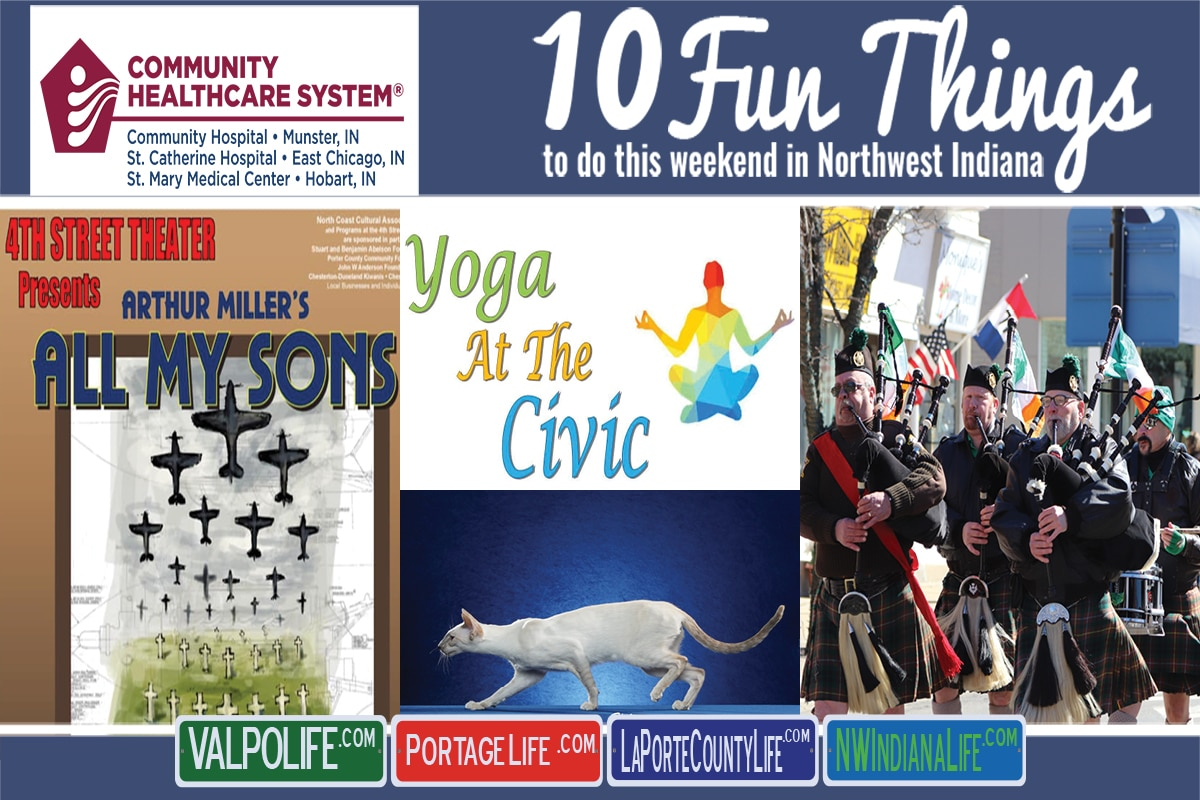 10 Fun Things to Do This Weekend in Northwest Indiana March 8th – 10th, 2019
