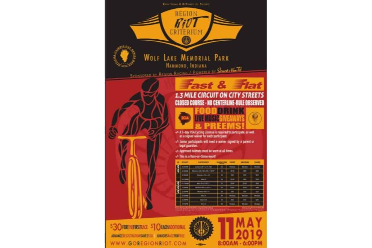 Region Riot Criterium Bike Race