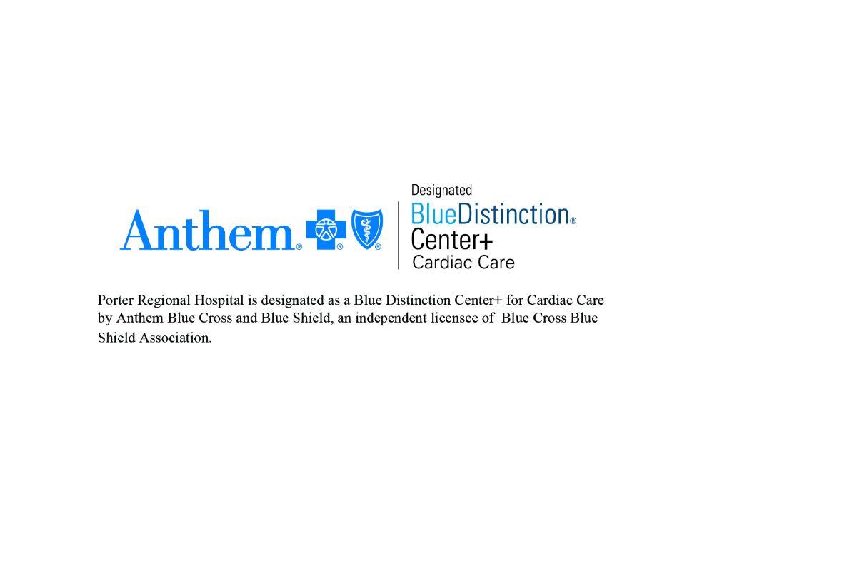Porter Regional Hospital Earns Blue Distinction Centers+ Designation for Cardiac Care