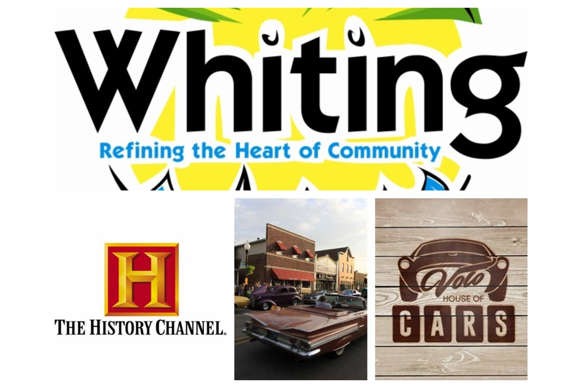 The City Of Whiting Celebrates History and Collaboration with Volo House of Cars and the History Channel ™