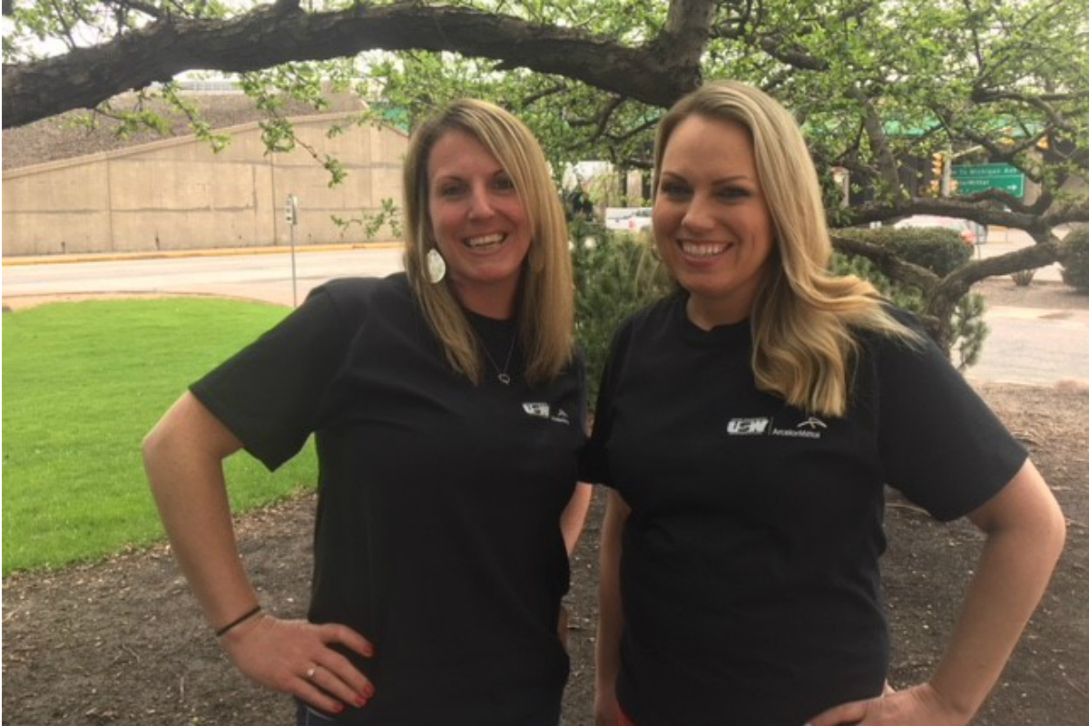 Nicole Hanas & Scarlet Spain are Keeping ArcelorMittal Healthy and Fit!