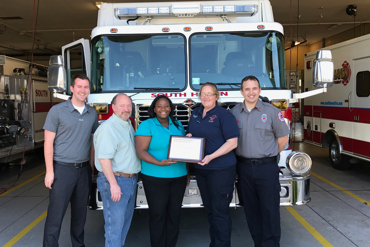 South Haven Fire Department to Bolster Fire Prevention Efforts with FM Global Grant