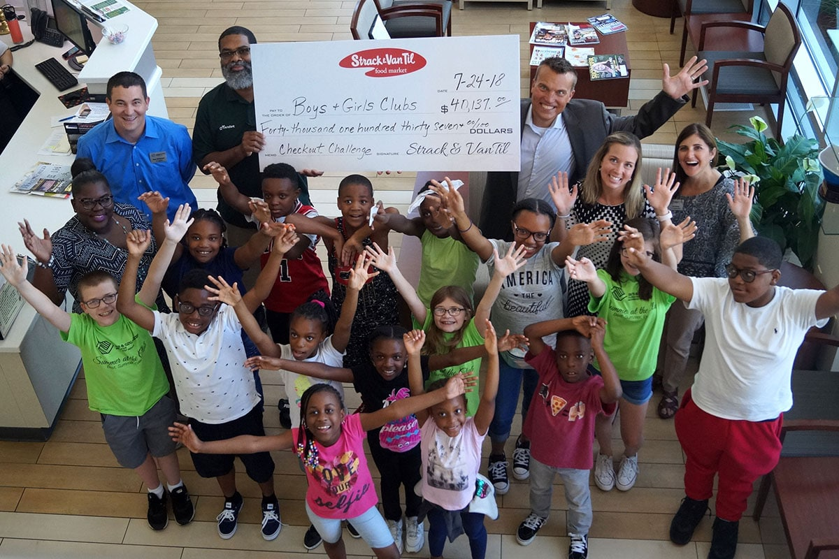 Boys & Girls Clubs of Greater Northwest Indiana Benefits from Strack & Van Til Giving Initiative