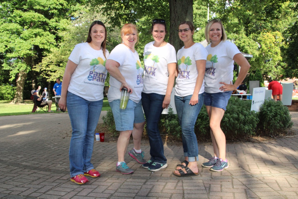Duneland Chamber of Commerce Throws 12th Annual Party in the Park, Rocks Chesterton