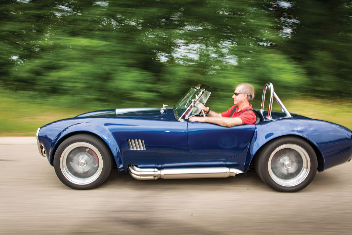 Franciscan Surgeon Discovers a Love and Flair for Car-Building