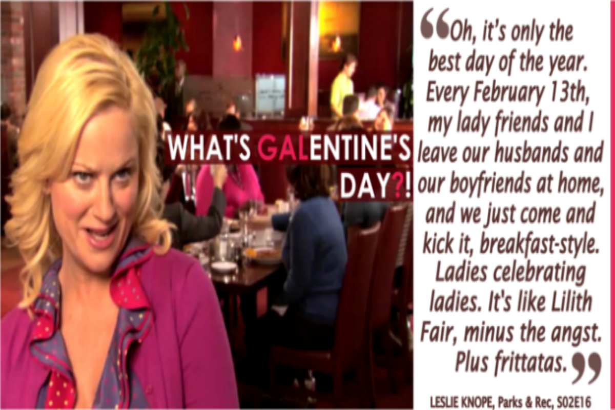 What S Galentine S Day Celebrate On Feb 13th Portagelife