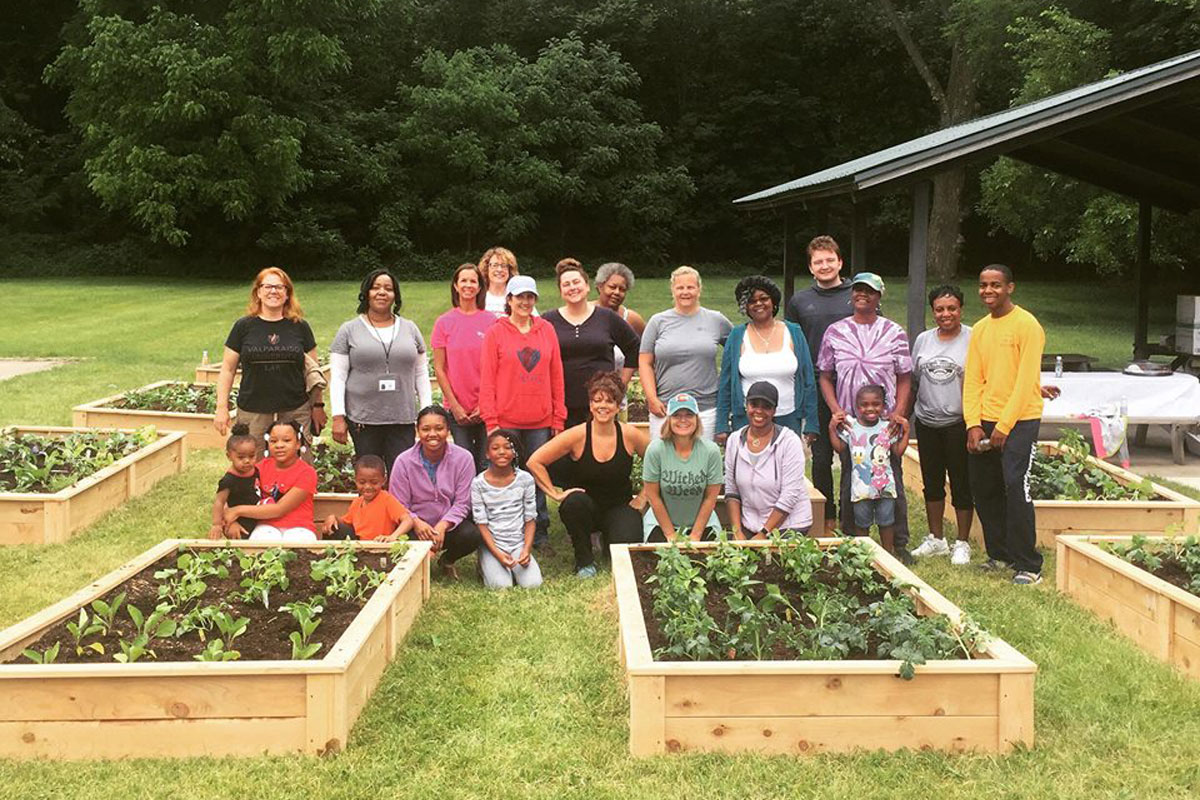Franciscan Health Helps Community Garden Plan Take Root