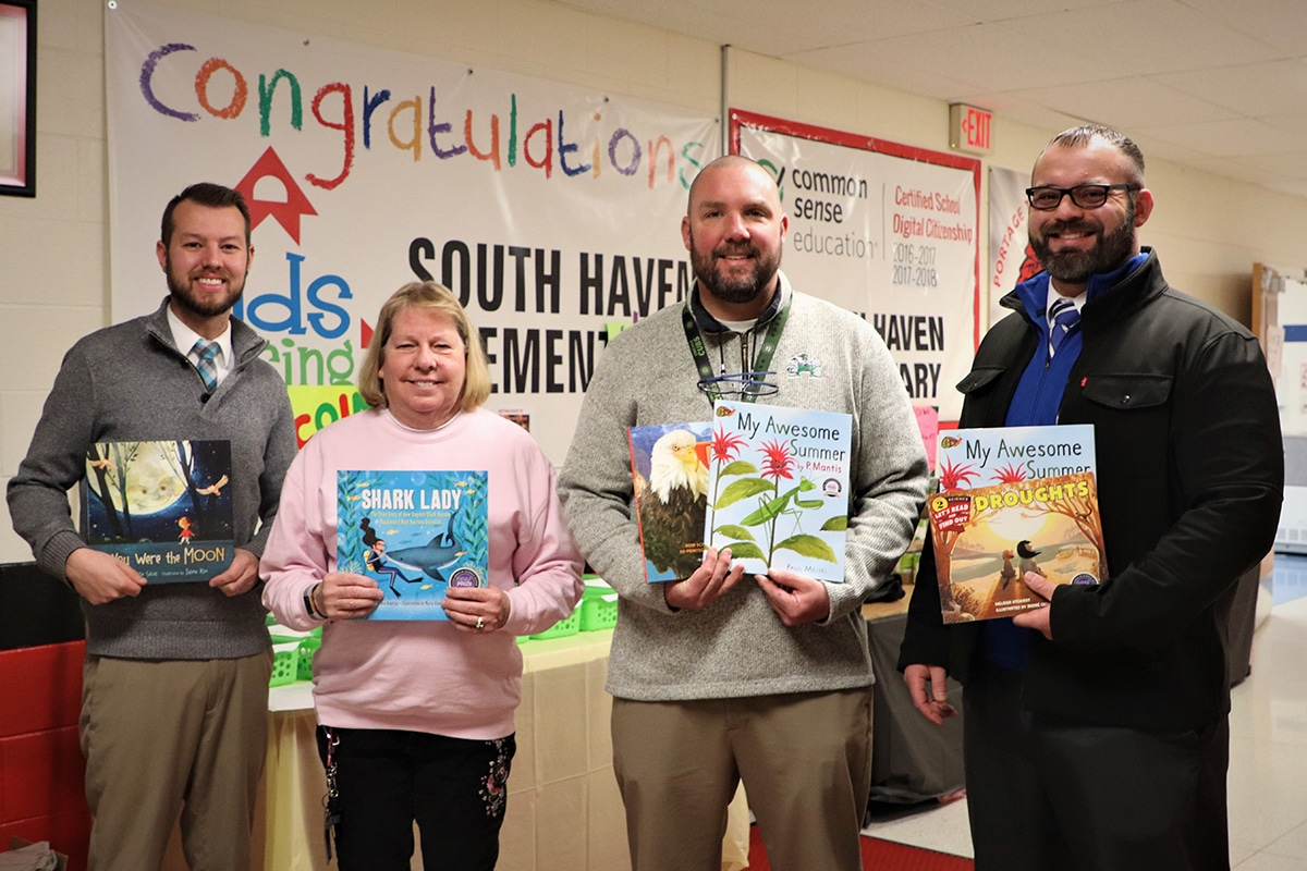 International Subaru of Merrillville Donates 150 Books to South Haven Elementary School