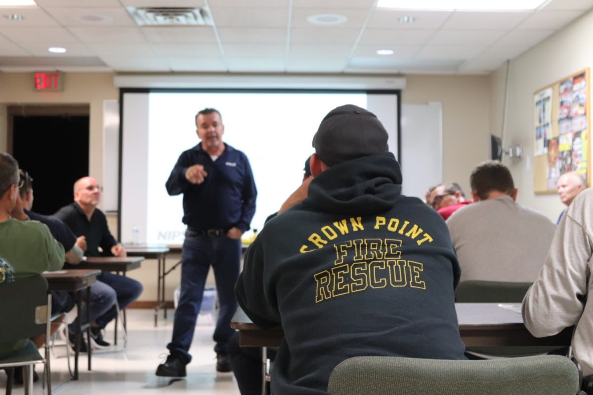 NIPSCO Holds Vital First Responders Safety Training on Natural Gas Safety for Crown Point Fire Department