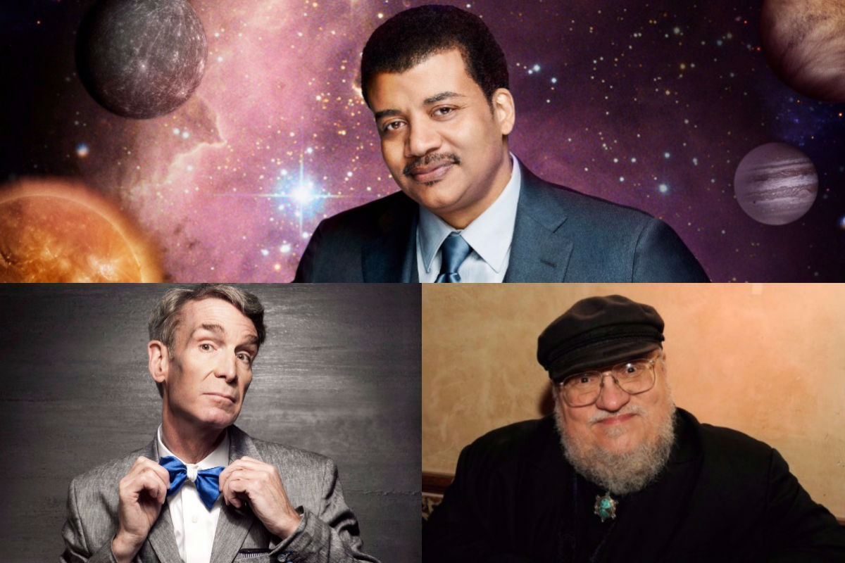 Neil deGrasse Tyson, Bill Nye and George R.R. Martin Join Forces for Dream Team Space Exploration Video Game