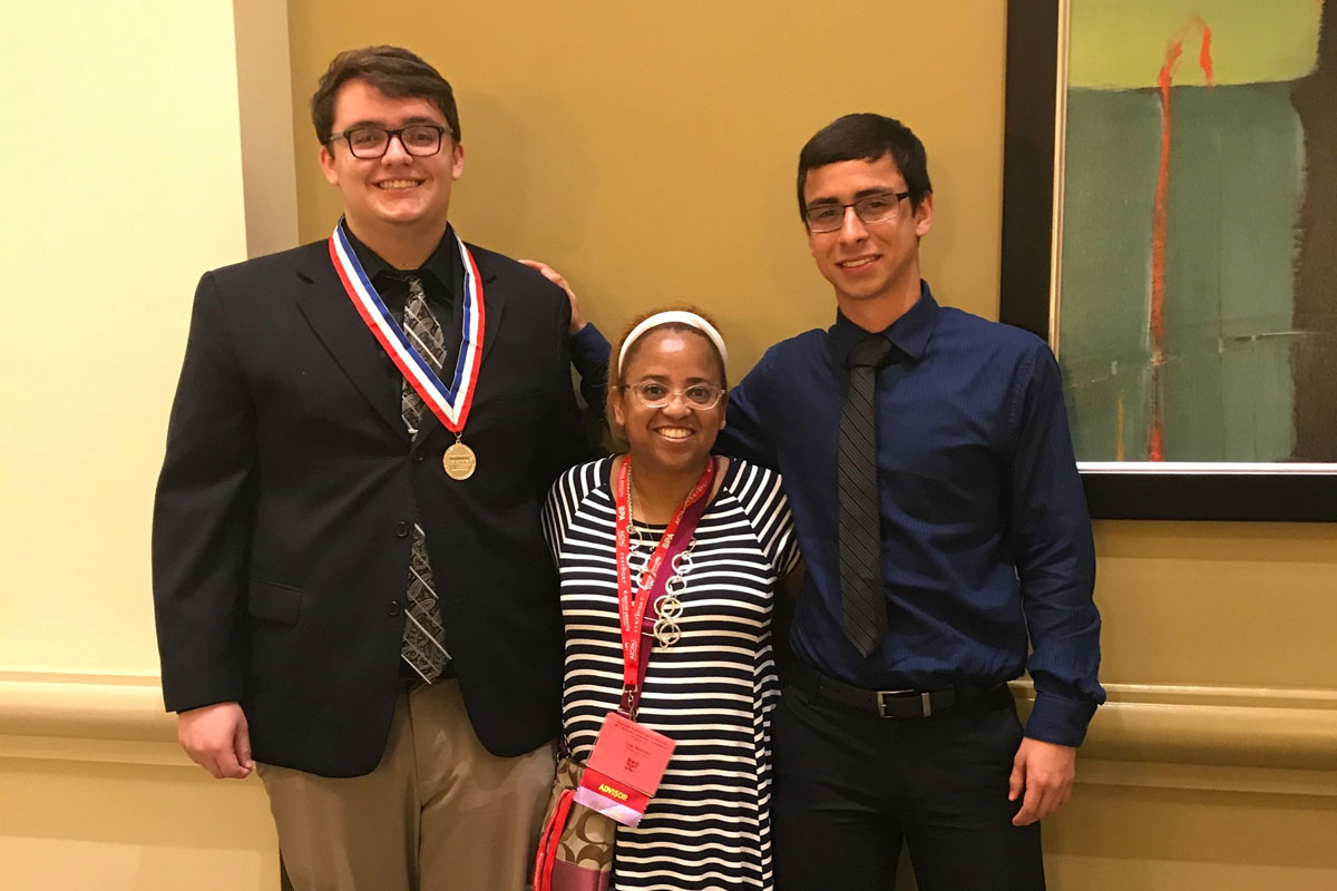 PHS Business Professionals of America Strikes Gold in Orlando