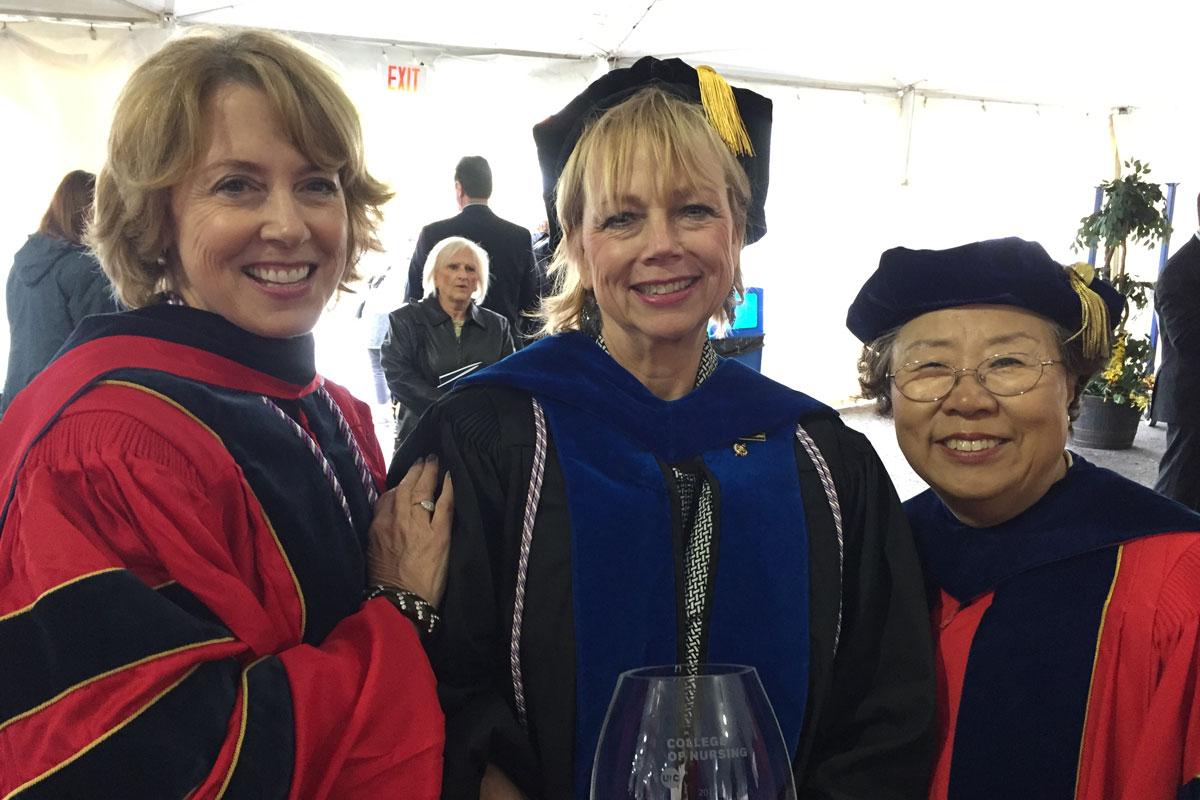 PNW Nursing Dean, Valparaiso Resident Lisa Hopp Honored by Alma Mater
