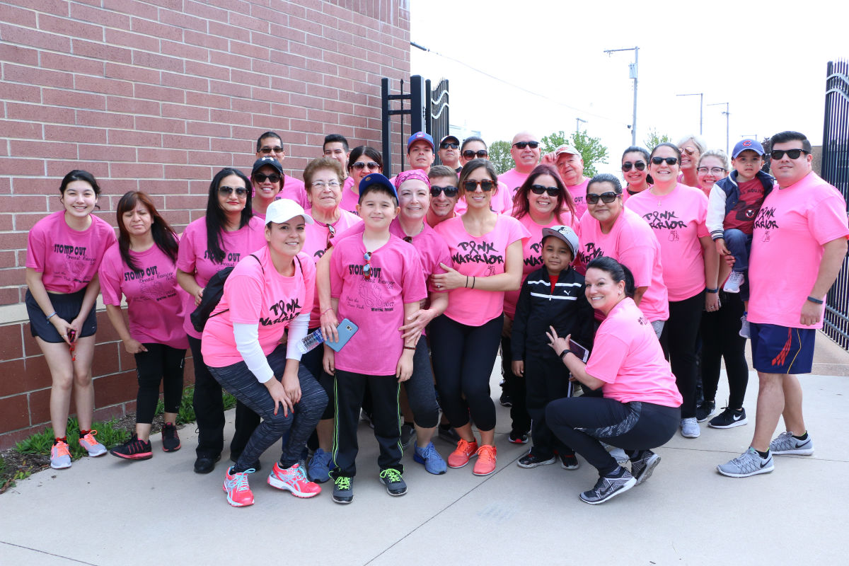 Paint the Town Pink Stomps Out Cancer At Annual 5K Walk/Run In Whiting