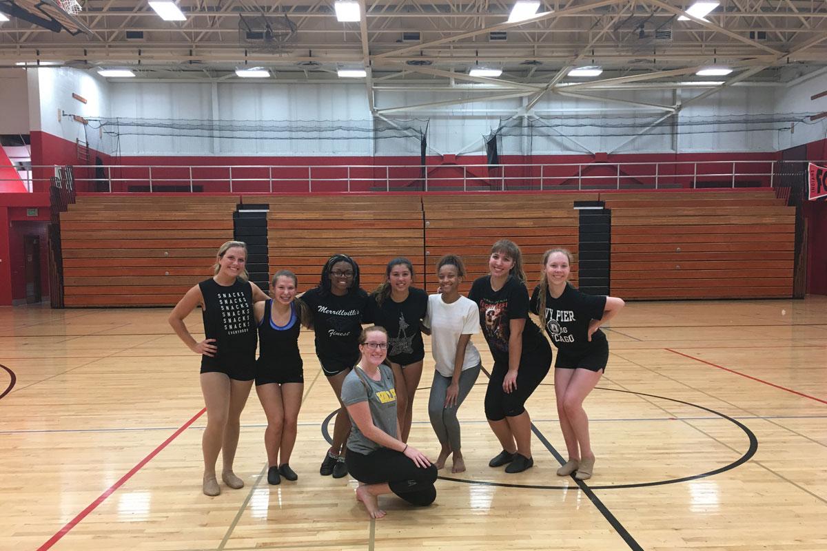 #1StudentNWI: Portage High School Dance Team Kicks off the School Year with Strength