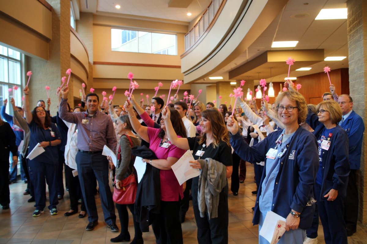 """Porter Regional Hospital Rallies Community to Raise Awareness for Breast Cancer with """"Blow Away Breast Cancer"""""""