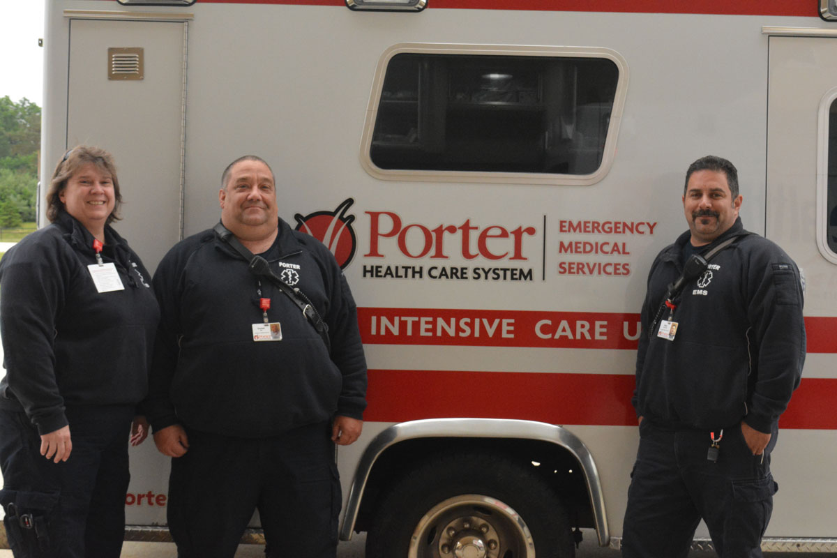 Porter Regional Hospital Luncheon Celebrates 2017 EMS Week