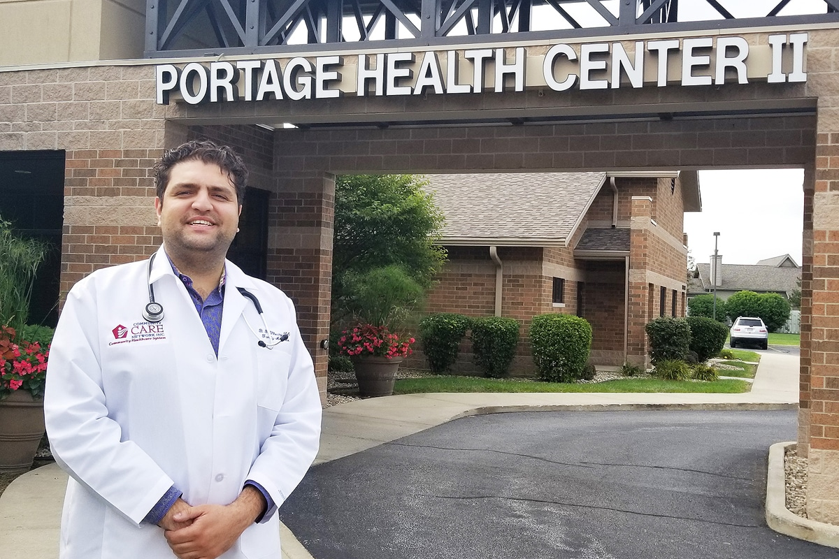 Primary Care Physician Robert Khoury, DO, joins St. Mary Medical Center's Portage Health Center II