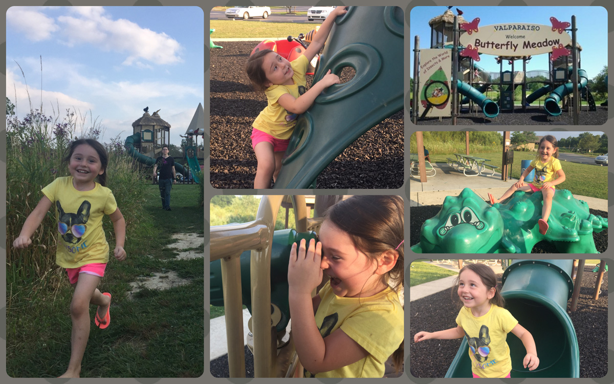 NWI Playground Review: Butterfly Meadows Park in Valparaiso
