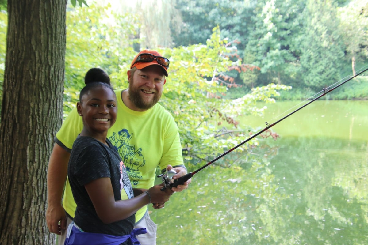 Take a Kid Fishing Day Teaches More than just the Skill