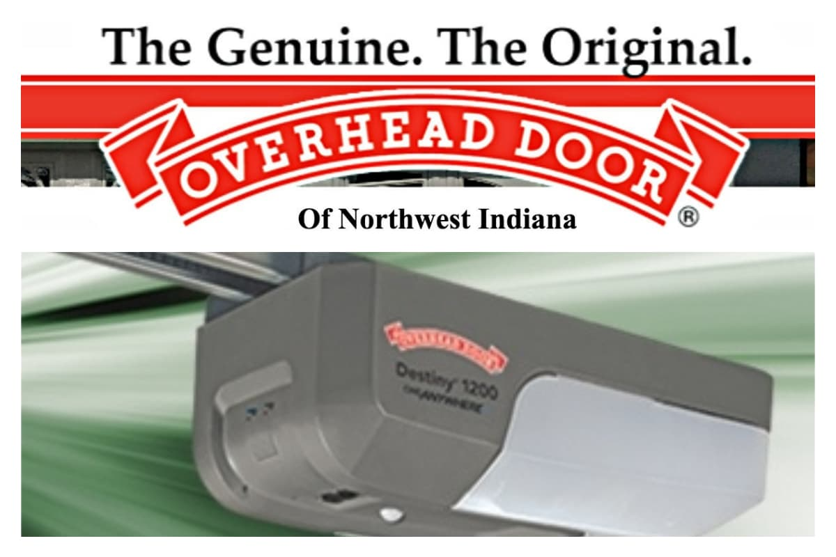 Overhead Door Of Northwest Indiana Offers Special Sale On Innovative Destiny 1200 Garage Door Opener Portagelife