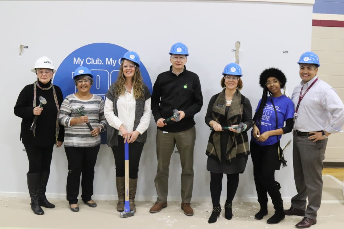 """Katherine House Boys & Girls Club Celebrates 100 Years of History with Complete Renovation at """"Demo Day"""""""