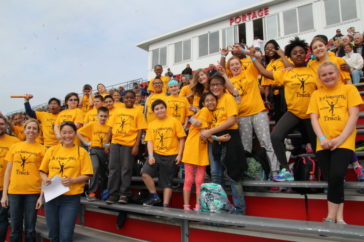 Portage Township Schools Hold Annual 5th Grade Track Meet for 2017