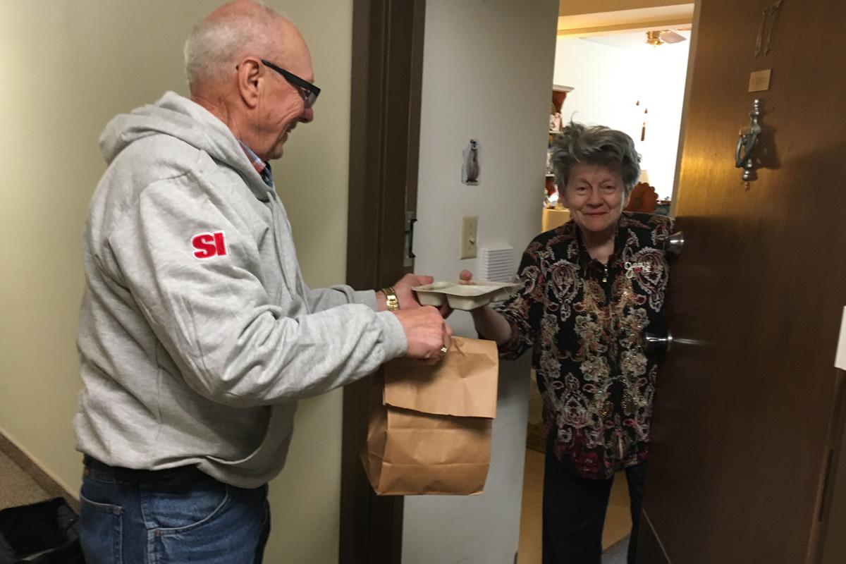 VNA Volunteers Befriend Community Residents through Meals on Wheels Program