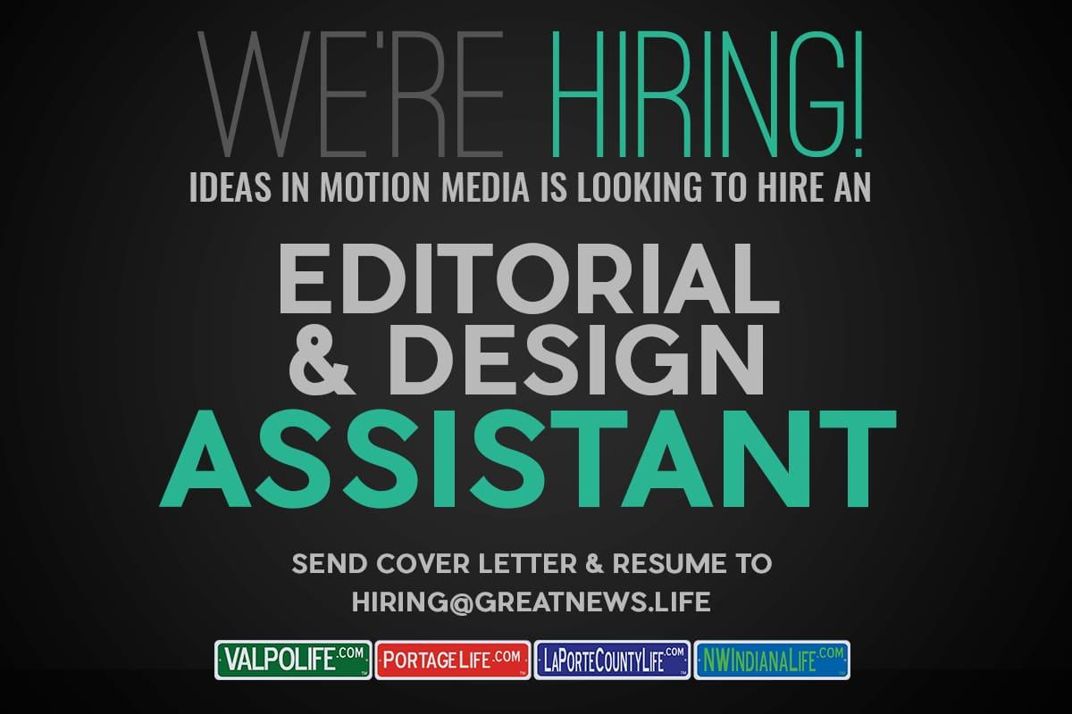 Ideas In Motion Media Hiring Editorial & Design Assistant