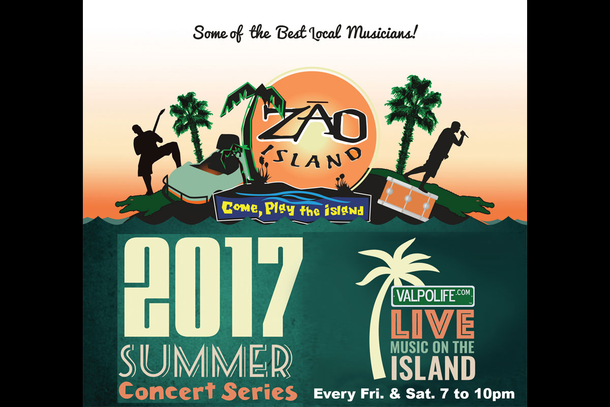 """ValpoLife, Zao Island Team Up for Biggest Summer Ever, with Upgraded Facility, """"Rain or Shine"""" Summer Concert Series, and Much More"""
